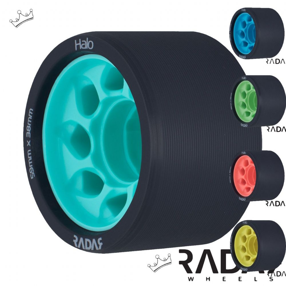 Radar Halo 59mm wheels (with bearings deal)